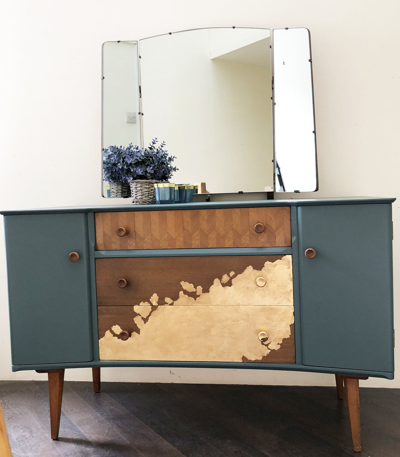 Mid Century Dressing Table Upcycled Dressing Table The Upcycle Company